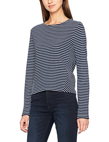 Bright 901 Courtes Tommy Manches White dress Blues Jeans T Femme Knit Bleu shirt nwfCvqF