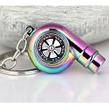 Turbo Schlüsselanhänger (Pfeifend) (Verschiedene Farben) (Neon)