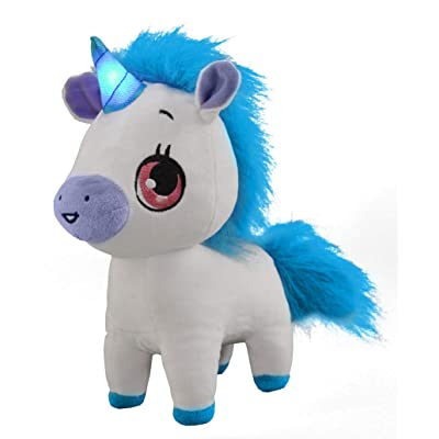 Wish Me Pets - Tinks The Unicorn with Blue Horn: Toys & Games