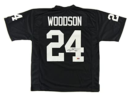 finest selection 47973 8b558 Charles Woodson Signed Jersey - Black Custom - Autographed ...