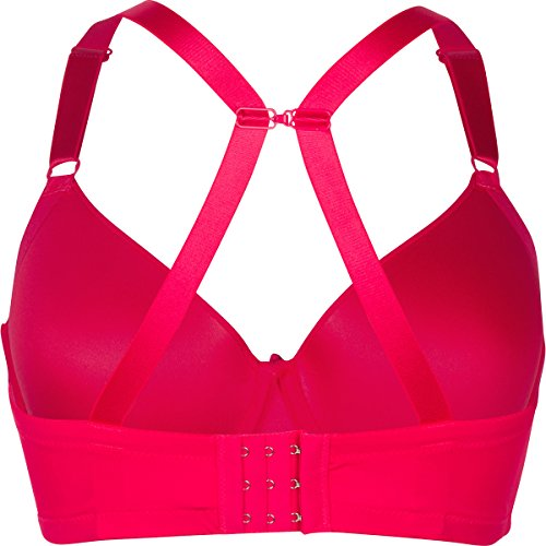 Barbra 6 Pack Women/'s D DD cup Underwired Better Fabric Bras with J-Hook