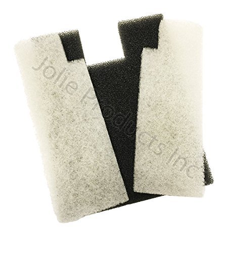 (Pondmaster 12195 Coarse Foam Pad Replacement Filter 2 Count )