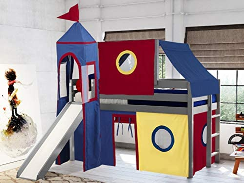 JACKPOT Castle Low Loft Bed
