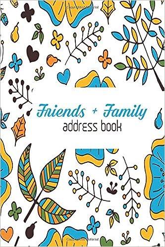 friends family address book mini birthdays address book for