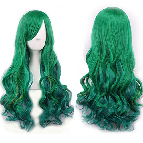 Sea Queen Sexy Mermaid Costumes - WeeH Costume Women Wigs Long Hair