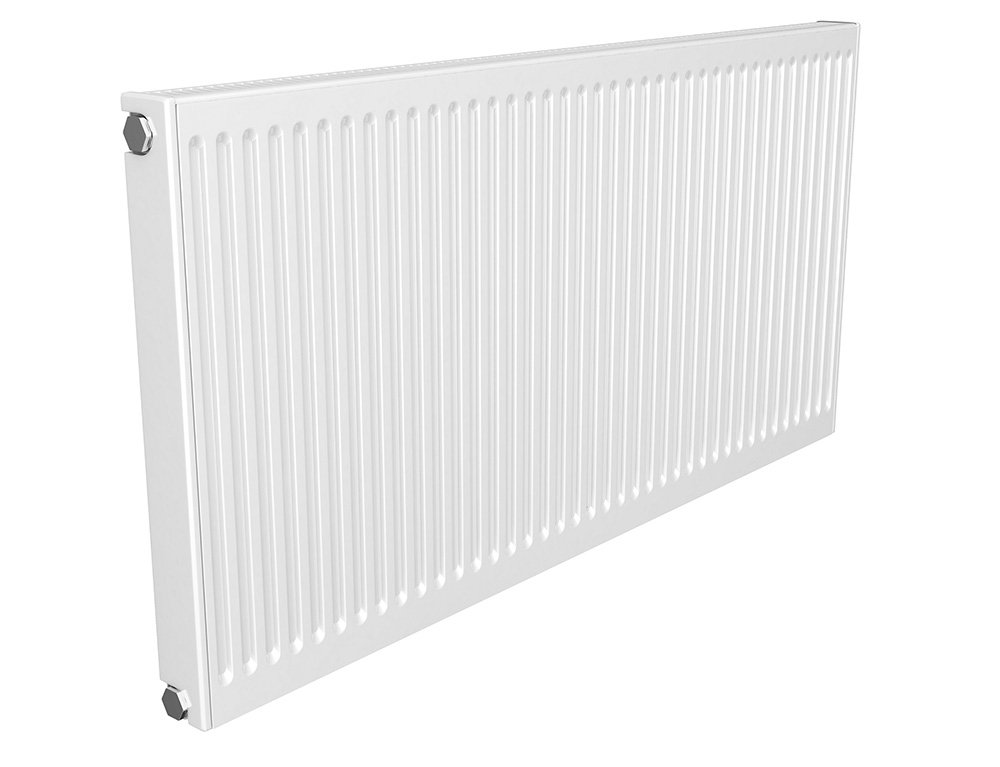 Quinn UK Made 3-in-1 Compact/Round-Top/Seam-Top Type 11 Single Panel Single Convector Radiator 700mm x 300mm White Quinn Radiators