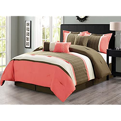 turk with and fantasy regard decor trina cover trellis set sets coral duvet prepare to comforter inside colored
