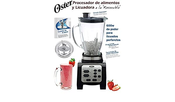 LICUADORA OSTER REVERSIBLE by Oster: Amazon.es: Hogar