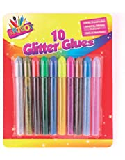 ArtBox Glitter Glue Pen - Assorted Colours (Pack of 10)