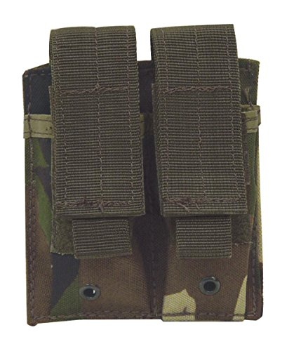 Voodoo Tactical Pistol Mag Pouch Double Woodland Camo 20-797
