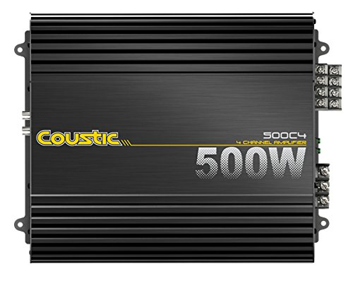 MTX Audio 500C4 Coustic Car Amplifier (Coustic Amp)