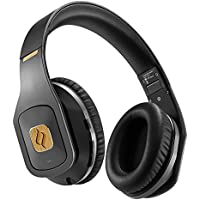 Noontec Hammo Wireless Professional Monitor Headphones for Studio Mixing Recording Superior Sound Over Ear Bluetooth 4.1 Rechargeable 50 Hours Battery