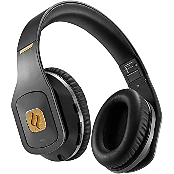 Noontec Hammo Wireless Professional Monitor Headphones for Studio Mixing  Recording Superior Sound Over Ear Rechargeable 50 Hours Battery 75d688696f13d