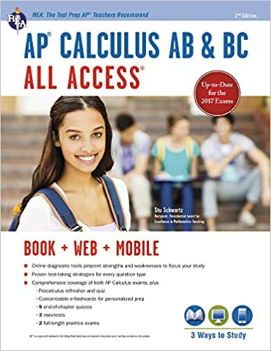 Amazon com: AP® Calculus AB & BC All Access Book + Online (Advanced