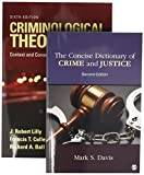 img - for BUNDLE: Lilly: Criminological Theory 6e + Davis: The Concise Dictionary of Crime and Justice 2e book / textbook / text book