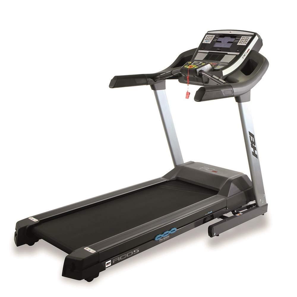 BH Fitness laufband klappbar i.RC05 Dual-4 PS Motor-bis zu 22 km h-Trainieren mit Apps-extra große lauffläche-bis 130 kg Nutzergewicht-G6175i