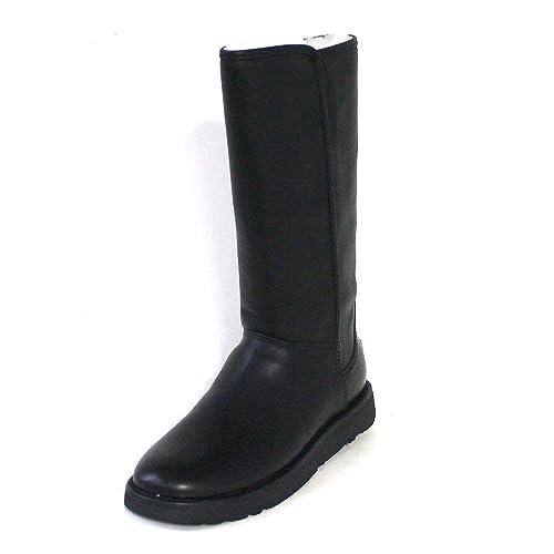 UGG® Australia Abree II Leather Mujer Botas Negro: Amazon.es: Zapatos y complementos