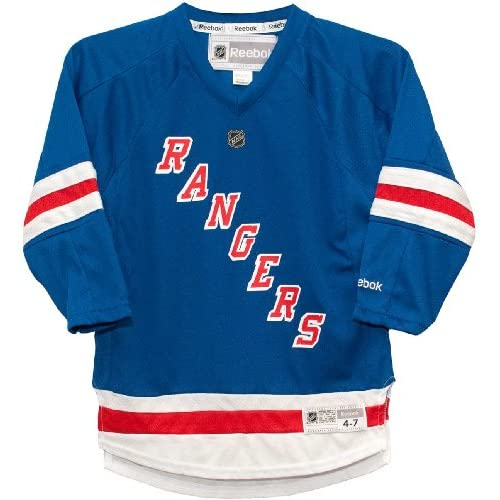 3f7f7ac37ebb5 outlet New York Rangers Home Blue Replica Child 4-7 Jersey ...