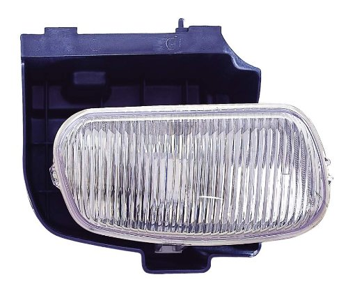 (For 1998 1999 2000 2001 Mercury Mountaineer Fog Lamp Light Passenger Right Side Replacement FO2593196 )