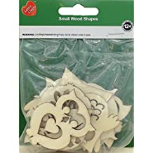 The New Image Group New Image Group Assorted Wood Shapes-Owl Pairs (8/pkg)