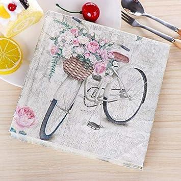 paper napkins decoupage x 2 Bumblebees 33cm