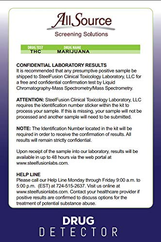 Amazon.com: AllSource Drug Detector, Home Marijuana Test: Health & Personal Care