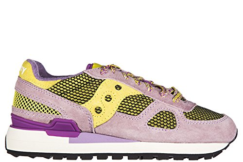 Saucony Damenschuhe Turnschuhe Damen Wildleder Schuhe Sneakers shadow original r