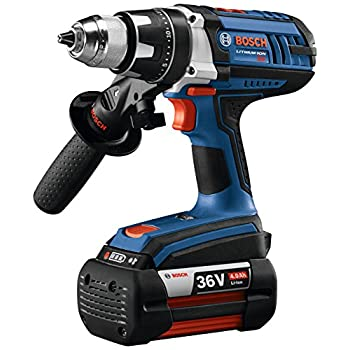 Image of Bosch DDH361-01 36V Drill/Driver Kit W/ (2) Fat Pack (4.0Ah) Battery Home Improvements
