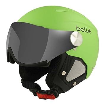 4386c06f Bolle 31083 Backline Visor Soft Green and Silver Ski Helmet (56 - 58cm):  Amazon.co.uk: Sports & Outdoors