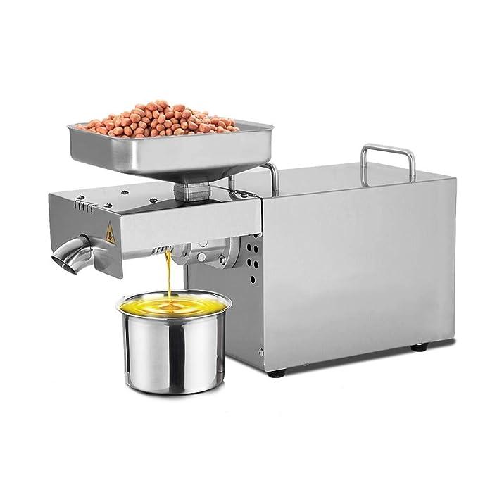 IDABAY Máquina de Prensa de Aceite Electrónica Oil Press Machine750W: Amazon.es: Hogar