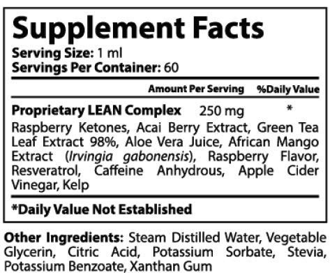 Lean Nutraceuticals Raspberry Ketones Drops – Start Ketosis Faster with a Powerful Natural Weight Loss Supplement…