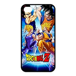 Mystic Zone Japanese Cartoon Dragon Ball Case for iPhone 4 4S Back Cover Fits Case KEK1679