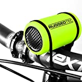 RuggedTec StrapSound Rugged Water Resistant Bluetooth Speaker Small Portable Outdoor Bike Strap Anywhere Speaker, Green