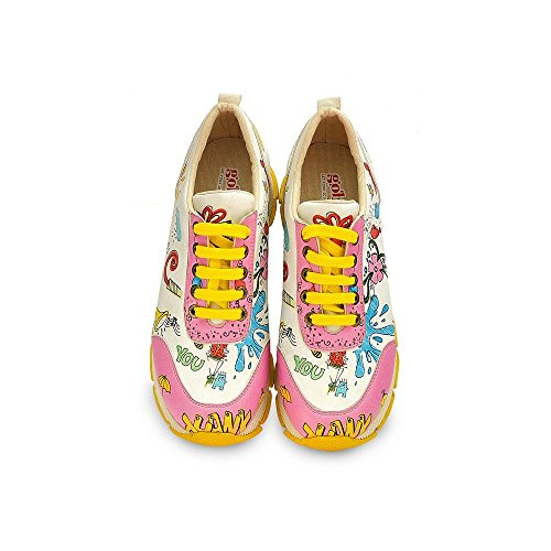Mode Baskets Femme Goby Skull Ice Trainers Pour SPS202 Women UK E57qqxA