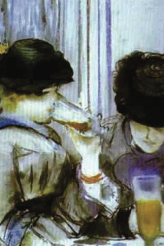 """""""Two Women Drinking Bocks"""" by Edouard Manet - 1878: Journal (Blank / Lined) (Art of Life Journals) pdf epub"""