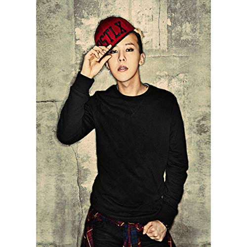 1 piece G-DRAGON BIGBANG Home Furnishing decoration Kraft Movie Poster Drawing core Wall stickers 4230cm -
