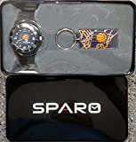 Indiana Pacers Spirit Style Watch and Keychain Gift Set NBA Basketball