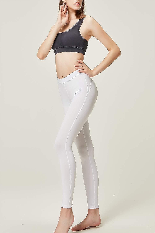 DEVOPS Women\'s 2 Pack Thermal Heat-Chain Compression Baselayer Long Johns Pants 61u%2BSh111GL