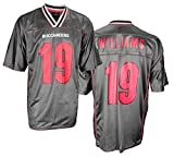 Tampa Bay Buccaneers Mike Williams #19 NFL Mens Midtier Fashion Jersey, Graphite