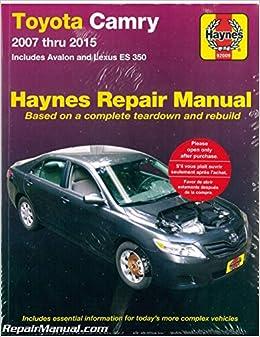 download lexus es 350 owners manual