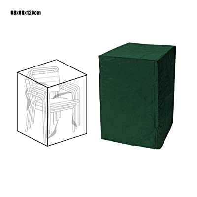 Ridecle Patio Chair Covers, Lounge Deep Seat Cover Heavy Duty and Waterproof Dustproof Outdoor Lawn Patio Furniture Covers Stackable Furniture Christmas TreeDust Cover : Garden & Outdoor