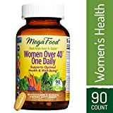 Cheap MegaFood – Women Over 40 One Daily, Multivitamin Support for Hair, Skin, Nails, Energy Production, and Hormone Balance with Iron and B Vitamins, Vegetarian, Gluten-Free, Non-GMO, 90 Tablets (FFP)