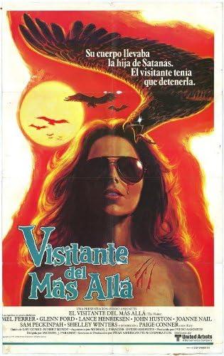El visitante Póster de película española 11 x 17 - 28 cm x 44 cm en Mel Ferrer Glenn Ford Lance Henriksen John Huston Shelley Winters Juana portaclavos: Amazon.es: Hogar