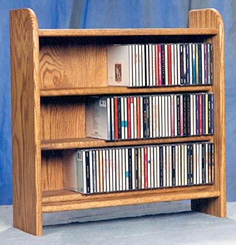 3 Shelf CD Storage (Clear) by Wood Shed