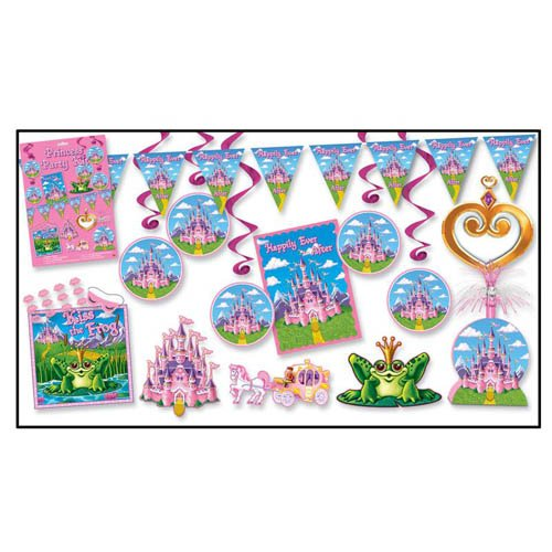Princess Party Kit Party Accessory (1 count) (13/Pkg) ()
