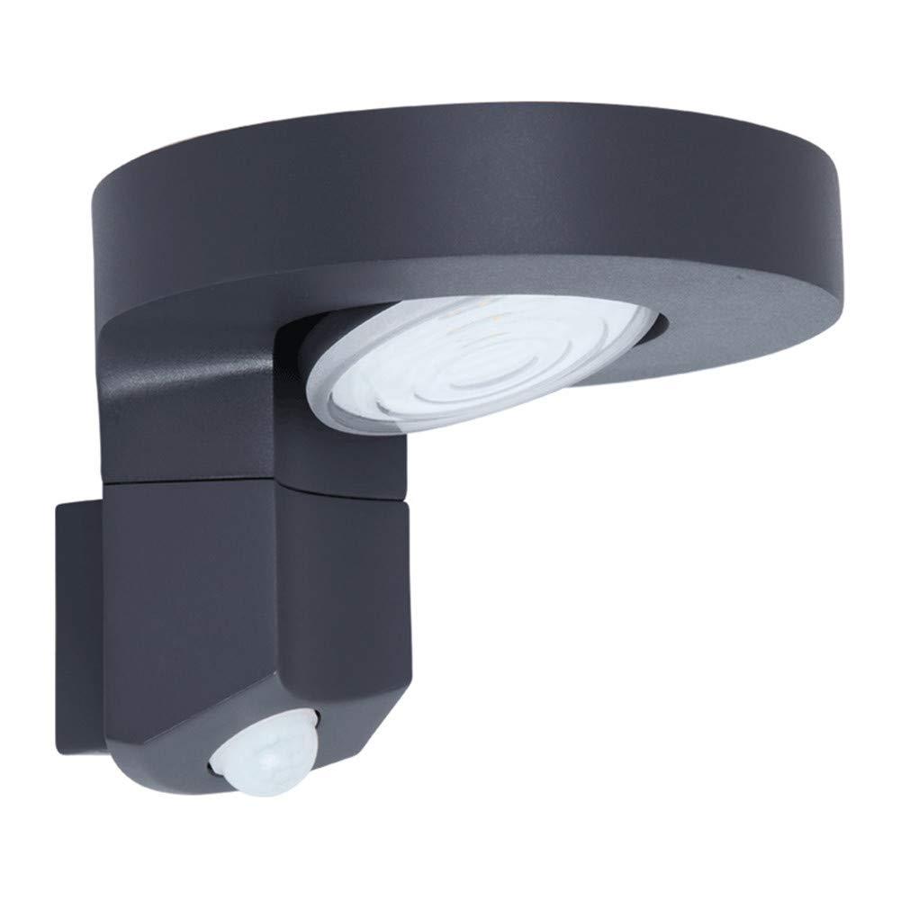 LCYCN Solare all'aperto Fiamma Danza sensore Corpo Luce Sicurezza WaterproofWall Light,1PACK