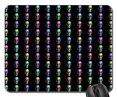 Mouse Pad - Background Skulls Human Bone Horror Dead ()