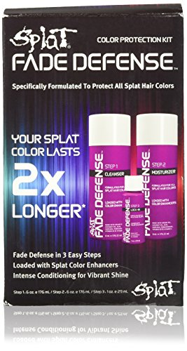 splat hair dye blue envy - 8