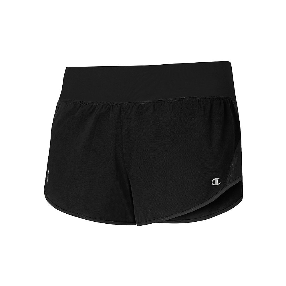 Champion Womens Marathon Run Shorts with Brief (M0912T)
