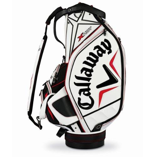 Callaway X Hot Staff Bag, White/Black/Red
